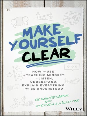 cover image of Make Yourself Clear