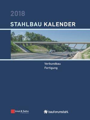 cover image of Stahlbau-Kalender 2018