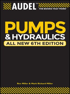 cover image of Audel Pumps and Hydraulics