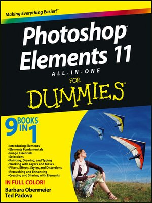 cover image of Photoshop Elements 11 All-in-One For Dummies