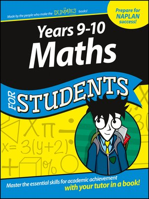 cover image of Years 9-10 Maths for Students