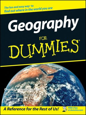 cover image of Geography For Dummies