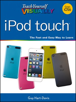 cover image of Teach Yourself VISUALLY iPod touch