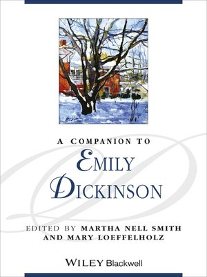 cover image of A Companion to Emily Dickinson