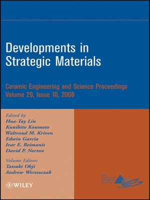 cover image of Developments in Strategic Materials