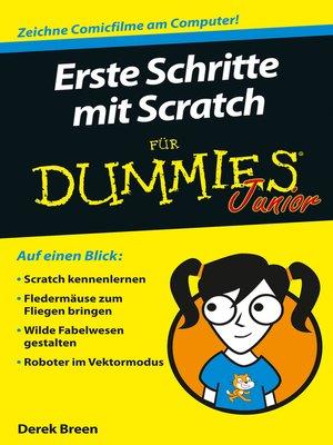 cover image of Erste Schritte mit Scratch für Dummies Junior