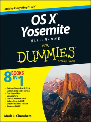 cover image of OS X Yosemite All-in-One For Dummies