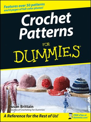 cover image of Crochet Patterns For Dummies