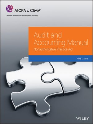 cover image of Audit and Accounting Manual