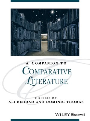 cover image of A Companion to Comparative Literature