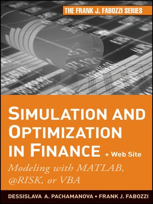 cover image of Simulation and Optimization in Finance