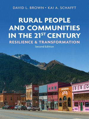cover image of Rural People and Communities in the 21st Century