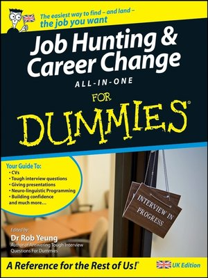 cover image of Job Hunting and Career Change All-In-One For Dummies