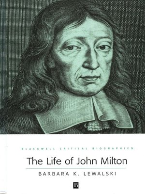 cover image of The Life of John Milton