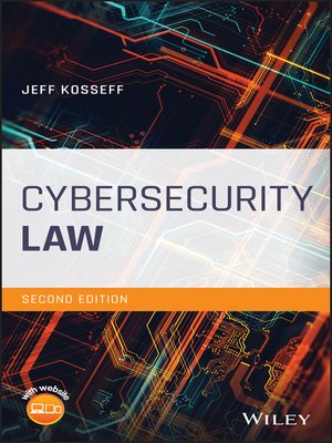 cover image of Cybersecurity Law