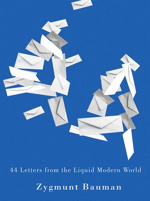 cover image of 44 Letters From the Liquid Modern World