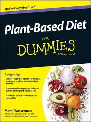 cover image of Plant-Based Diet For Dummies