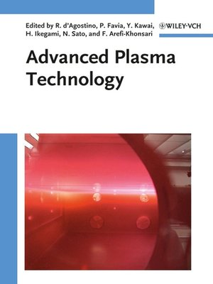cover image of Advanced Plasma Technology