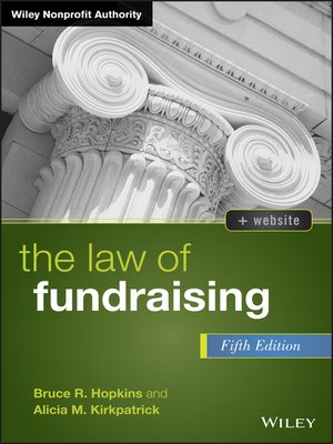 cover image of The Law of Fundraising