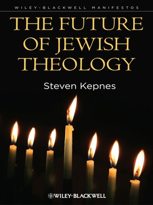 cover image of The Future of Jewish Theology