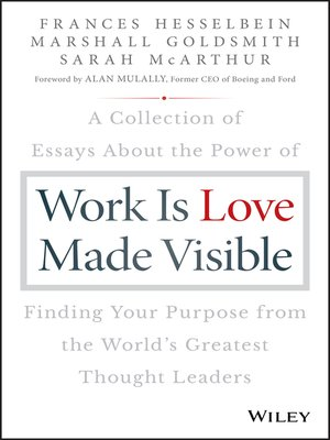 cover image of Work is Love Made Visible