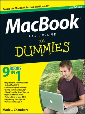 cover image of MacBook All-in-One For Dummies
