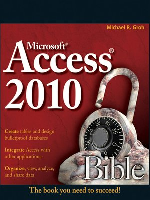 cover image of Access 2010 Bible