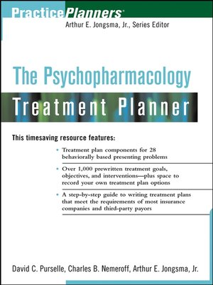 cover image of The Psychopharmacology Treatment Planner