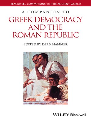 cover image of A Companion to Greek Democracy and the Roman Republic