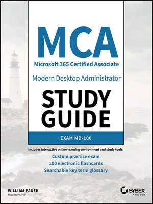 cover image of MCA Modern Desktop Administrator Study Guide