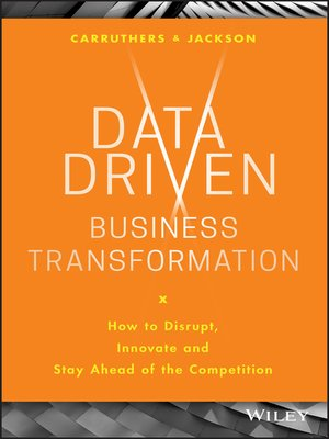 cover image of Data Driven Business Transformation