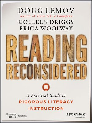 cover image of Reading Reconsidered