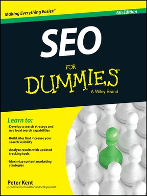cover image of SEO For Dummies