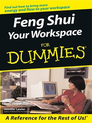 cover image of Feng Shui Your Workspace For Dummies