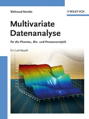 cover image of Multivariate Datenanalyse