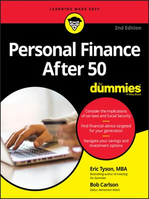 cover image of Personal Finance For Seniors For Dummies