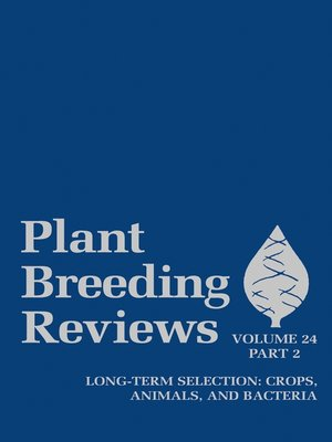 cover image of Plant Breeding Reviews, Part 2