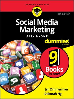 cover image of Social Media Marketing All-in-One For Dummies