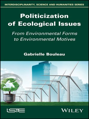cover image of Politicization of Ecological Issues