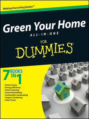 cover image of Green Your Home All in One For Dummies