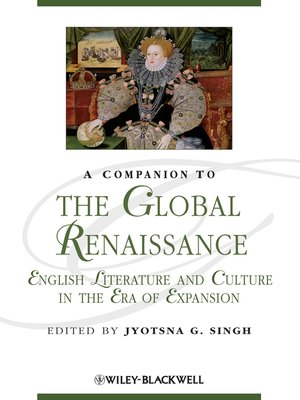 cover image of A Companion to the Global Renaissance