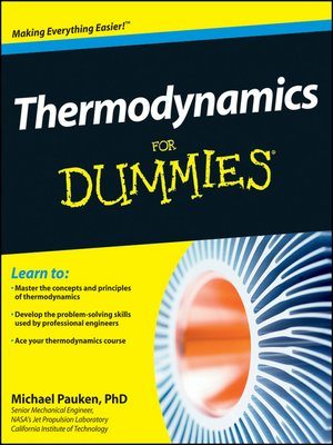 cover image of Thermodynamics For Dummies