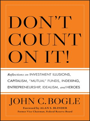 cover image of Don't Count on It!