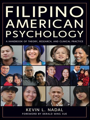 cover image of Filipino American Psychology