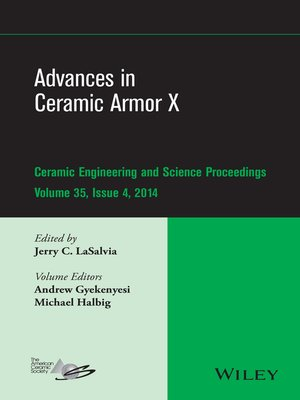 cover image of Advances in Ceramic Armor X