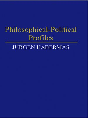 cover image of Philosophical-Political Profiles