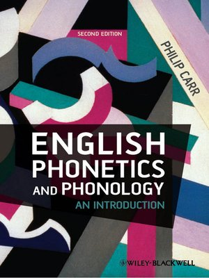 cover image of English Phonetics and Phonology