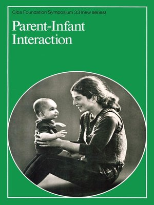 cover image of Parent--Infant Interaction