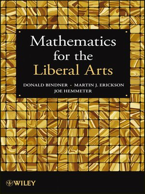cover image of Mathematics for the Liberal Arts