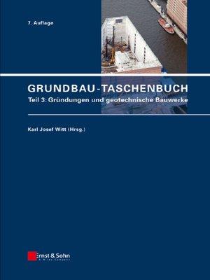 cover image of Teil 3: Gründungen und geotechnische Bauwerke